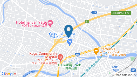 Hotel Route-Inn Yaizu Inter Map