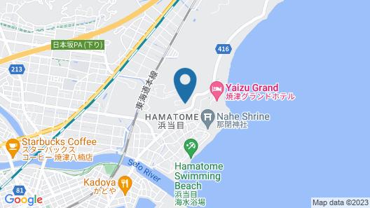 Kanponoyado Yaizu Map
