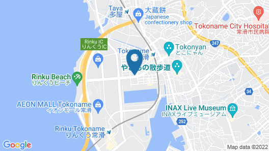 Tokoname Map