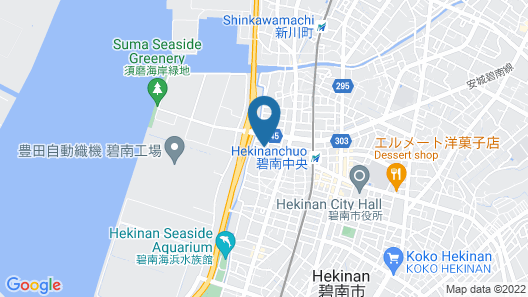 Business Hotel Shinsuma Map