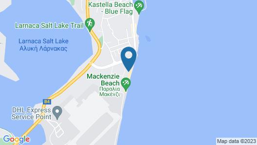 La Veranda Hotel Map