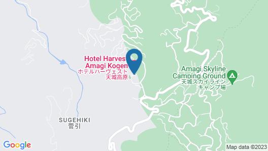 Hotel Harvest Amagikogen Map
