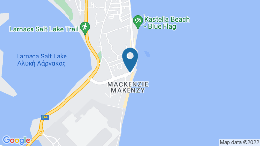 Costantiana Beach Hotel Apartments Map
