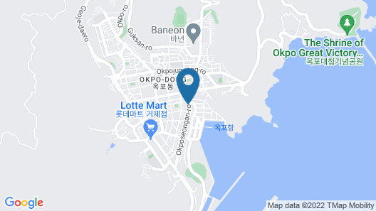 Residence Hotel Eden Stay Map
