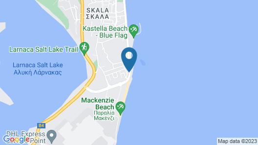 Flamingo Beach Hotel Map