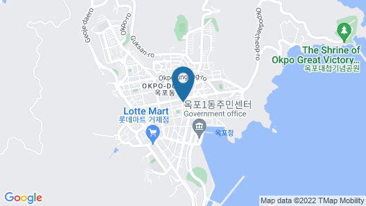 Jinwoo Prestige Hotel Map