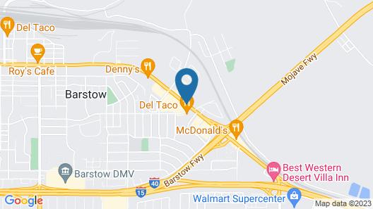 California Inn Map