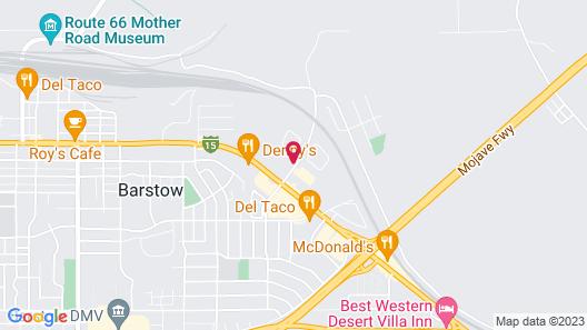 Motel 6 Barstow, CA Map