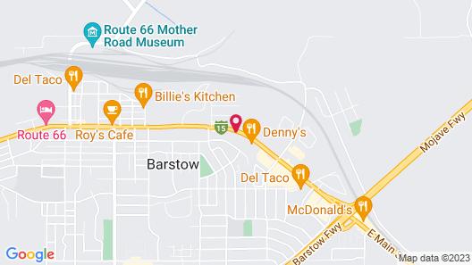 Desert Inn Motel Map