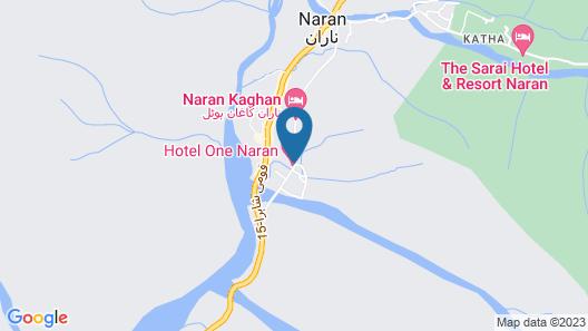 Hotel One Naran Map