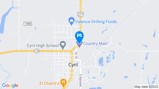 OYO Hotel Cyril OK US-277 Map