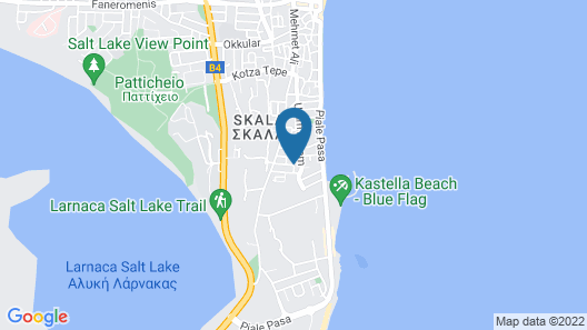 San Remo Hotel Map