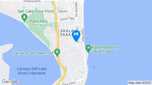 San Remo Hotel Map