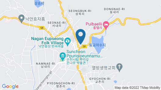 Suncheon Moonlight Love Hanok Pension Map