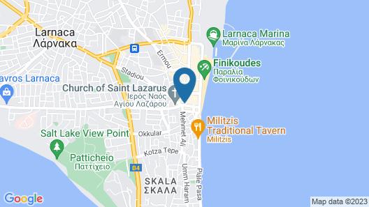 Livadhiotis City Hotel Map