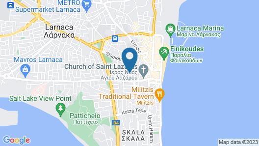 Hotel Indigo Larnaca, an IHG Hotel Map