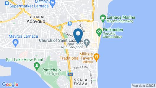 Hotel Indigo Larnaca Map