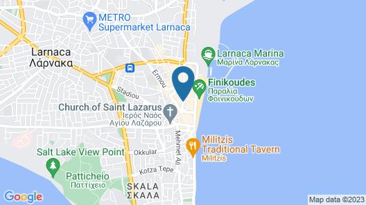 The Josephine Boutique hotel Map