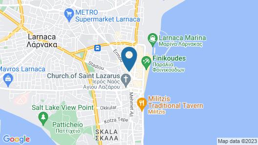 Levante Boutique Apartments Map