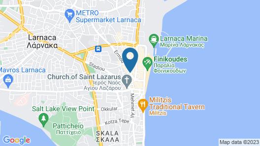 Lakis Court Map