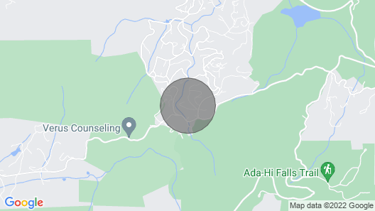 Enjoy 'treetops' in the North Ga Mountains. Now With Wifi! Map