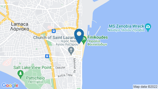 Palm Sea Hotel Apartments 2 Map