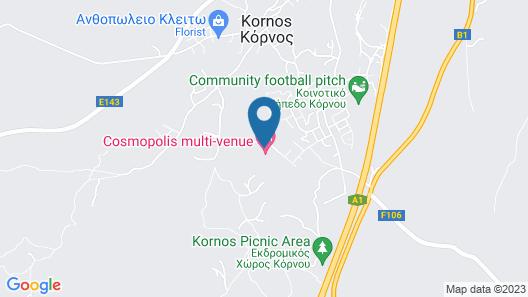 Cosmopolis Multi-Venue Map