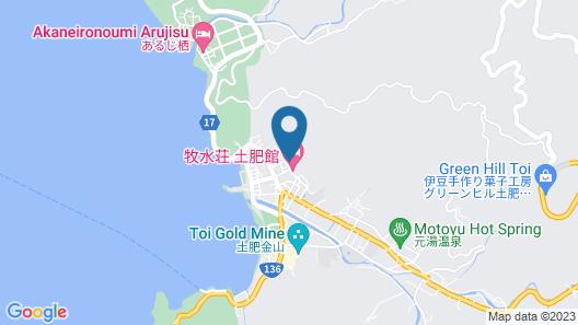 Gyokushoen Arai Map