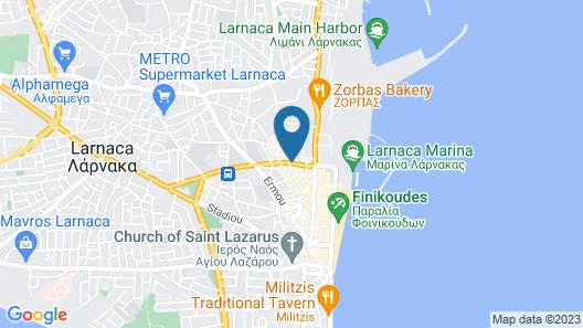 Frangiorgio Hotel Map