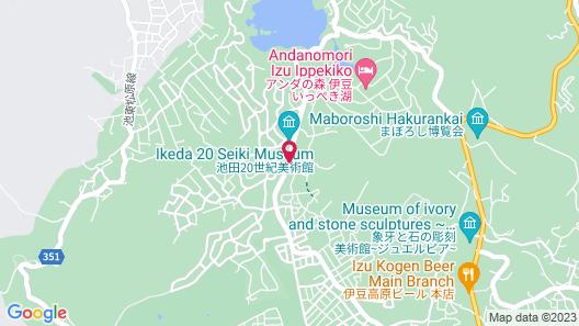 Auberge Le Temps Map