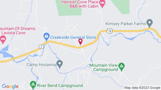 The Ridges Resort on Lake Chatuge Map