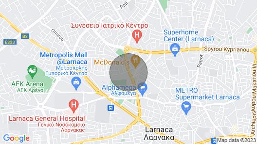 Disigner Apartament in Larnaca Map