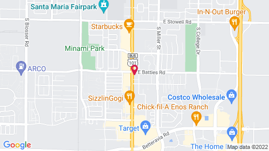 Buckboard Motel Map