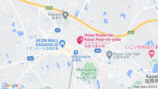 Hotel Route Inn Kasai Hojo No Shuku Map