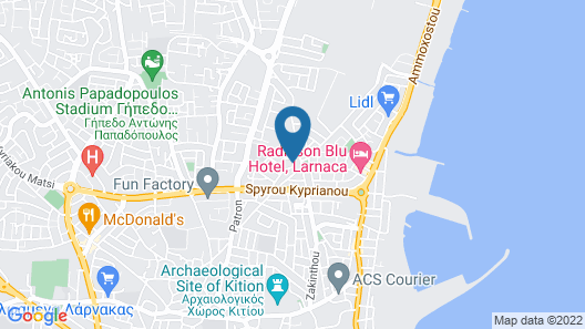 Luxury Apartment in the Center Map