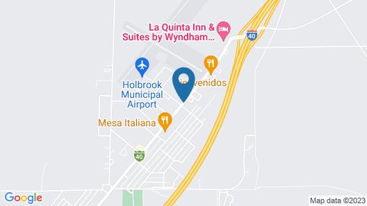 Best Western Arizonian Inn Map