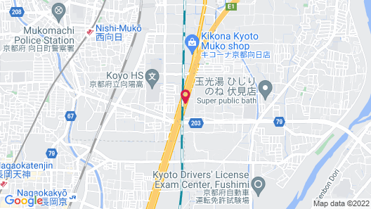 Hotel Alfa Kyoto - Adults Only Map