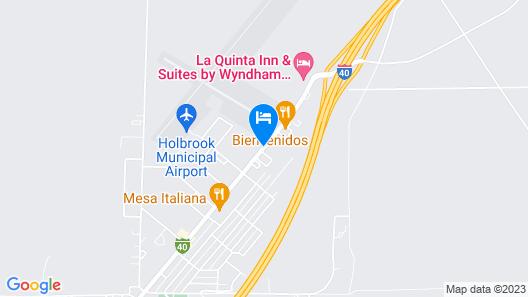 Days Inn by Wyndham Holbrook Map