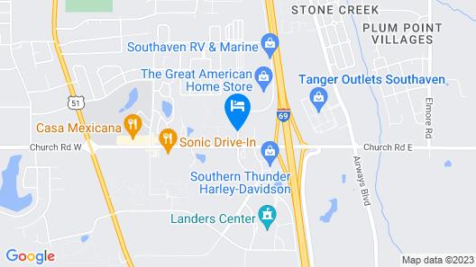 Magnolia Inn And Suites Map