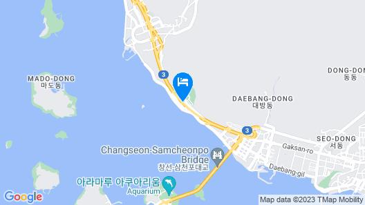 Samcheonpo Seaworld Hotel Map