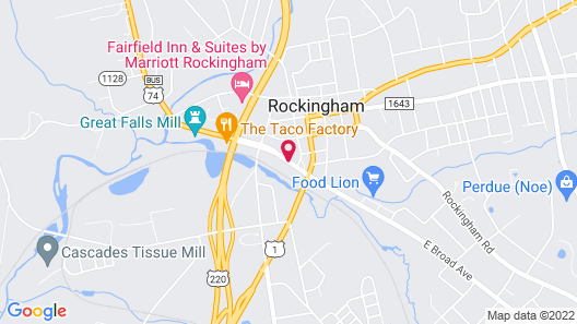 Budgetel Inn and Suites Map