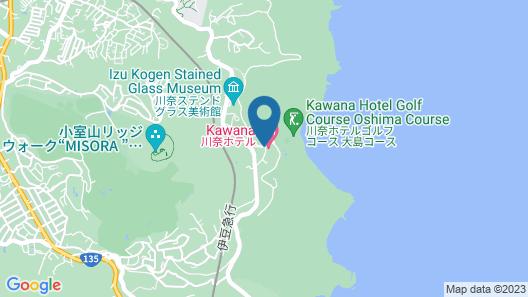 Kawana Hotel Map