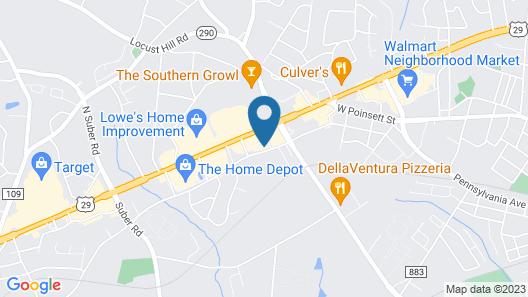 Comfort Inn & Suites Greer - Greenville Map