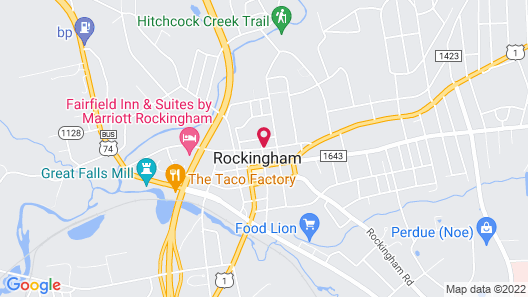 Fairfield Inn & Suites by Marriott Rockingham Map