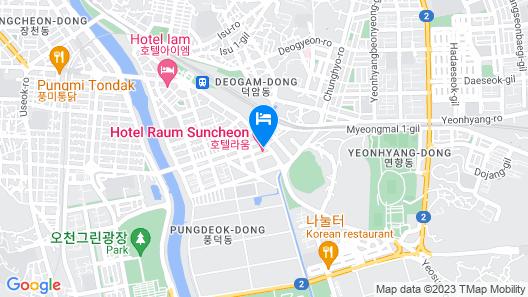 Hotel RAUM Map