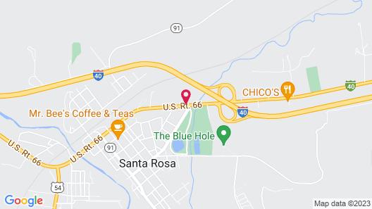Super 8 by Wyndham Santa Rosa Map