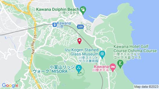 Ito Yukitei Kawana Bettei Map