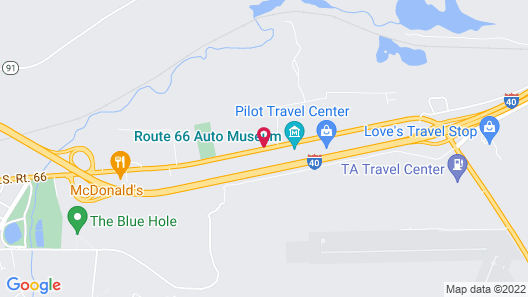 Travelodge by Wyndham Santa Rosa Map