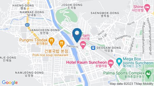 DIVINE Hotel Map