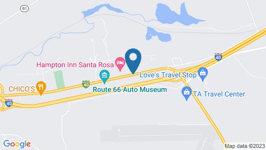 Best Western Santa Rosa Inn Map